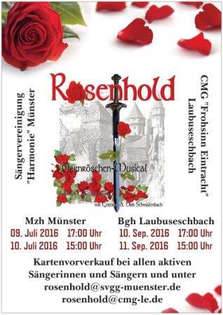 """Musical """"Rosenhold"""""""