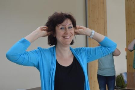 Bilder vom Workshop Körperpräsenz – Körperklang