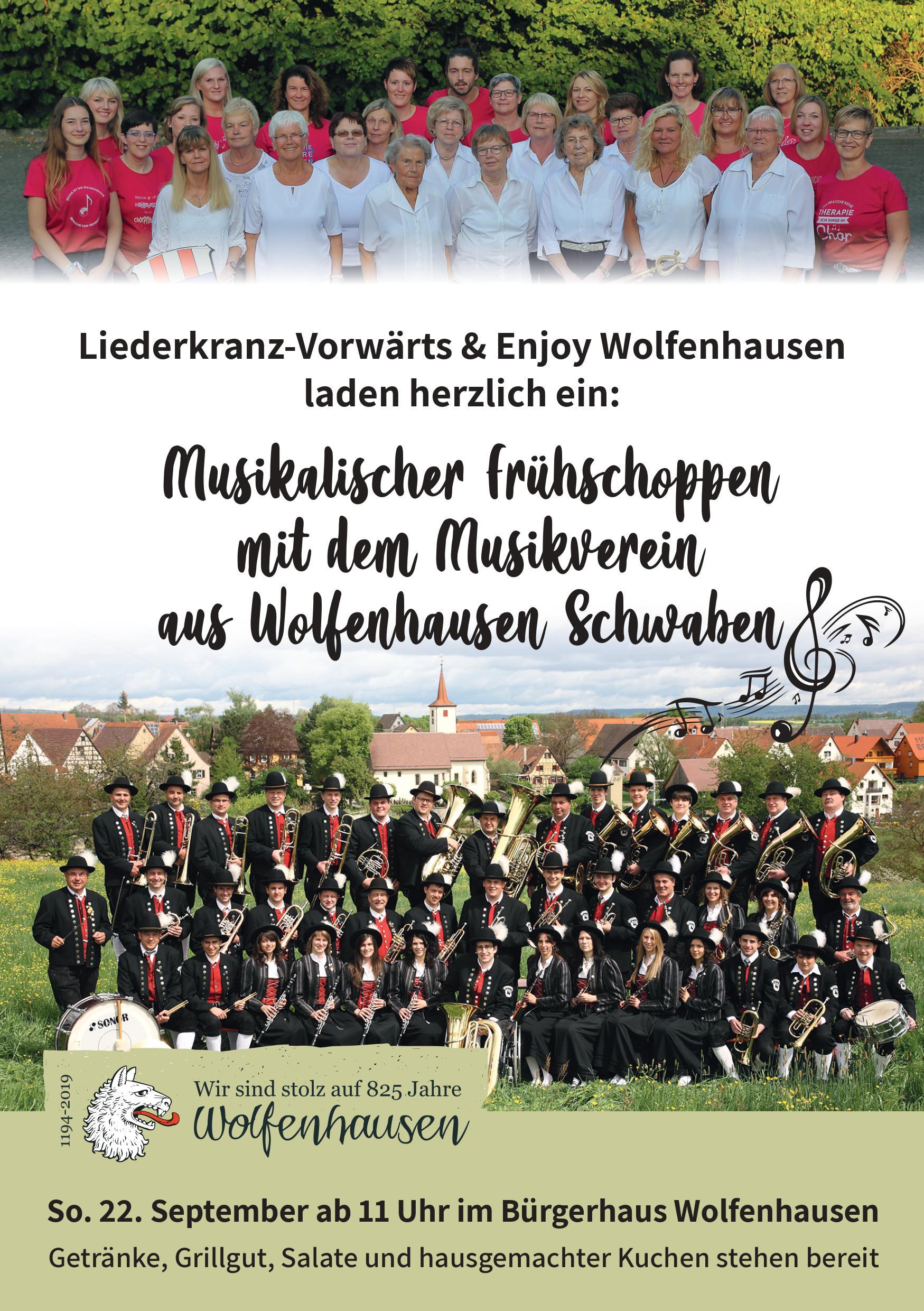 Frühschoppen in Wolfenhausen